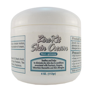 Shown here our ZincKit Skin Cream product includes Salicylic Acid as an ingredient.